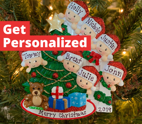 Personalized Christmas Ornaments - The Jolly Christmas Shop