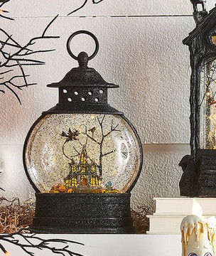 Raz Imports 10 Quot Haunted House Halloween Lighted Water