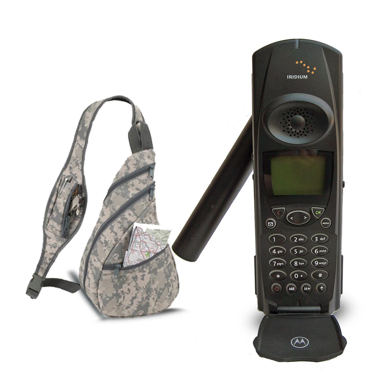 Iridium Motorola 9500 Satellite Phone w/Backpack-Used/Refurbished