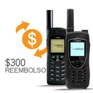 Obtén $300 USD de Reembolso por la compra Teléfonos Satelitales Nuevos Modelos Iridium 9555 Y 9575 Extreme.