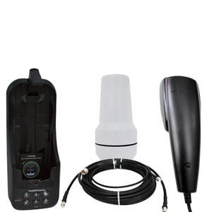 Beam potsdock docking station kit for the Iridium 9575 satellite phone with passive antenna, cable and handset