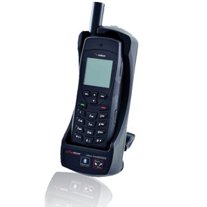 Beam Intellidock cradle for Iridium 9555 satellite phone