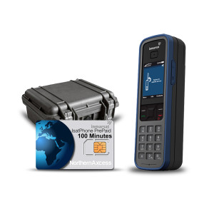 Isatphone Pro with Prepaid Airtime and Pelican Case Kit.