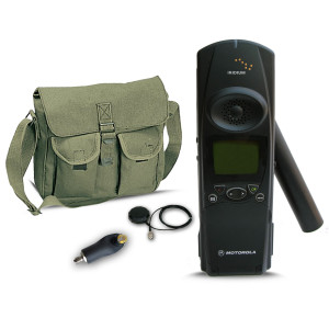 Iridium Motorola 9500 Refurbished Satellite Phone Kit