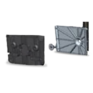 Wall mount bracket kit for the Iridium GO