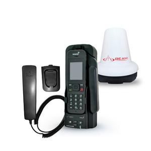Beam IsatDock 2 Lite w/ Active Antenna & Handset -IsatPhone 2