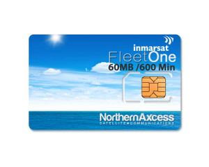 Inmarsat Fleet One Prepaid 300 Unit Sim Card