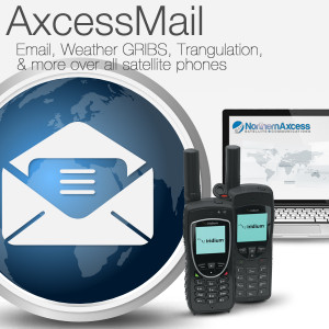Satellite Phone email, and weather GRIBs program software, and compression