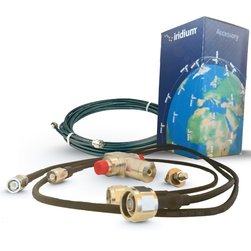 10 meter cable kit for Iridium fixed antenna-with lightning suppressor-SYN7910A