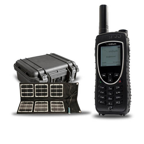 Iridium 9575 Extreme with Hard Case and Solar Panel