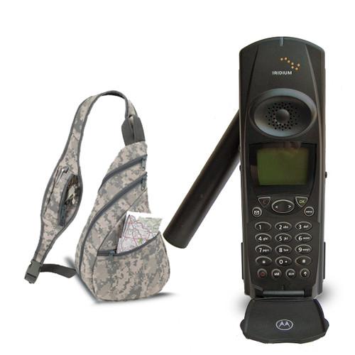Iridium Motorola 9500  Satellite Phone Starter Kit