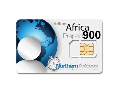 Iridium Africa 900 Minutes Prepaid Sim Card