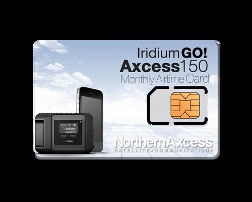 Iridium GO! Axcess 150 Monthly Airtime Plan