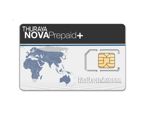 Thuraya-NOVA-prepaid-plus-airtime-Sim-Card-northernaxcess