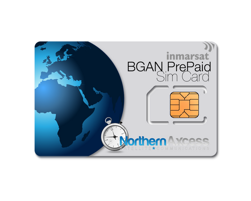 BGAN Prepaid Airtime Sim Card Reload