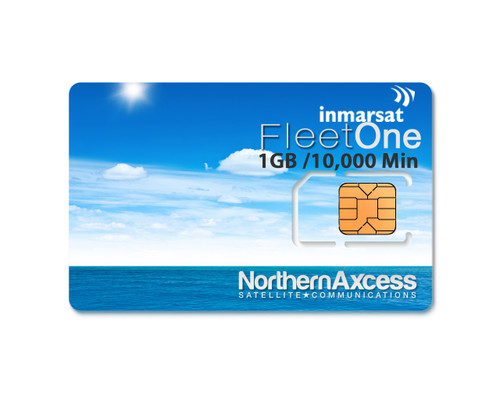 Inmarsat Fleet One Prepaid 5000 Unit Sim Card
