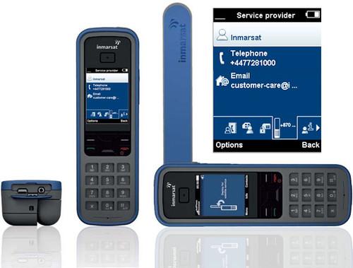 Isatphone Pro Sat Phone Screen Display