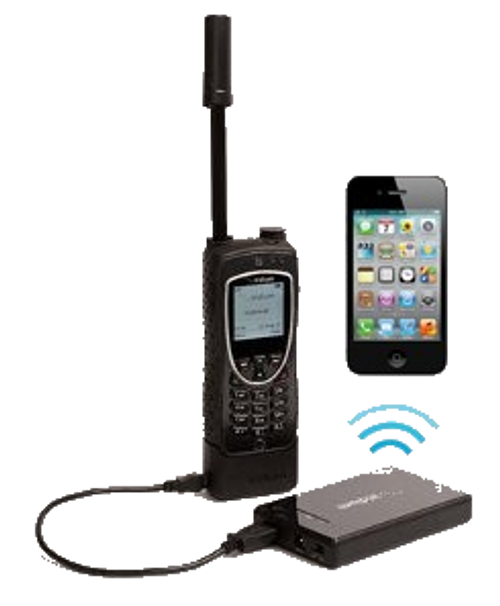 Iridium Axcess point for 9575 extreme, 9555, & 9505A satellite phone
