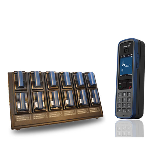 satstation twelve bay external battery charger for isatphone pro