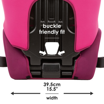 Buckle friendly fit [Pink]