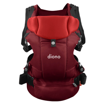 Diono Carus Essentials 3-in-1 Carrying System from Birth up to 3 Years [Red]