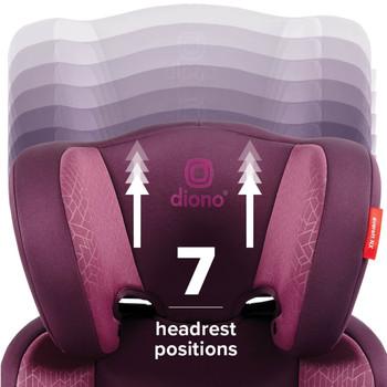 7 headrest positions [Plum]