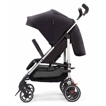 Lightweight Umbrella Stroller With Canopy [Black Midnight]