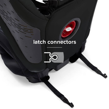 LATCH Connectors for quick and easy installation [Black]