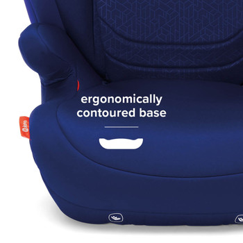 Total comfort with contoured seat base [Blue]