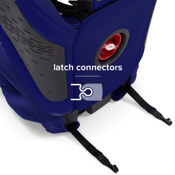 LATCH Connectors for quick and easy installation [Blue]