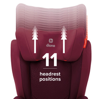 11 headrest positions [Plum]