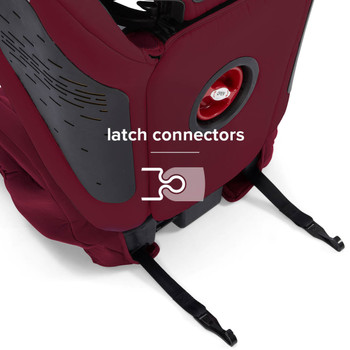 LATCH Connectors for quick and easy installation [Plum]