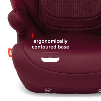 Total comfort with contoured seat base [Plum]