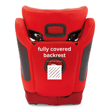 Monterey® 4DXT has a fully covered back [Red]