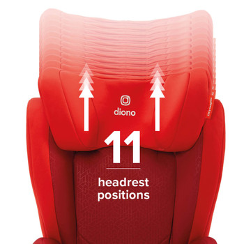 11 headrest positions [Red]