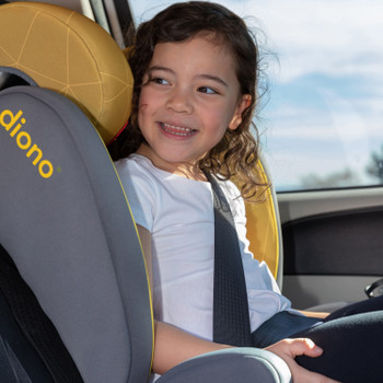 Monterey® XT high back booster seat [Yellow Sulphur]