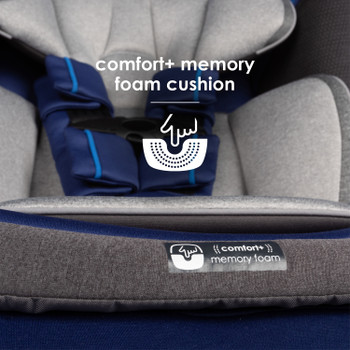 Memory foam cushion seat base [Blue Sky]