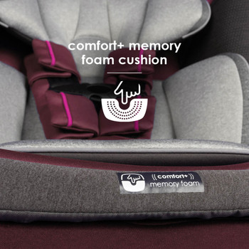 Memory foam cushion seat base [Purple Plum]