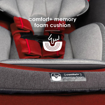 Memory foam cushion seat base [Red Cherry]