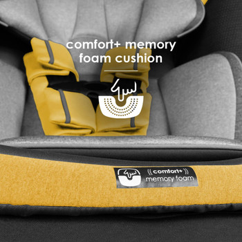 Memory foam cushion seat base [Yellow Mineral]