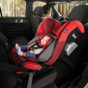 Radian® 3QXT All-in-one convertible car seat Rear-facing from 4 lbs [Red Cherry]