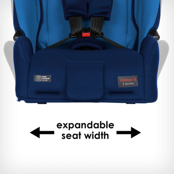 Expandable seat width [Blue Sky]
