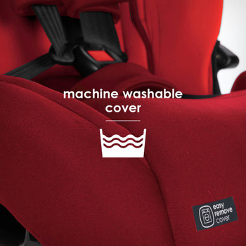 Easy remove machine wash covers [Red Cherry]