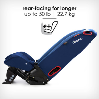 Rear-facing for longer up to 50 lb [Blue Sky]