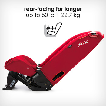 Rear facing for longer up to 50 lb [Red Cherry]