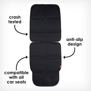 Crash tested Ultra Mat car seat protector