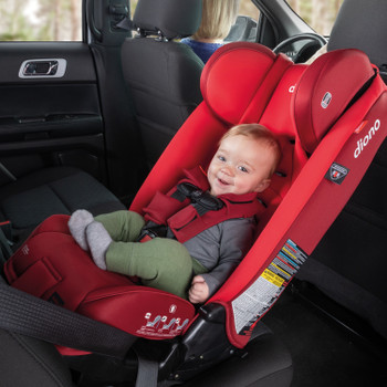 Rear-facing for longer up to 50 lbs [Red Cherry]