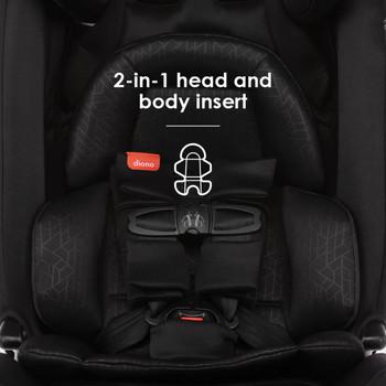 2-in-1 head and body insert [Black Jet]