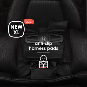 New XL anti-slip harness pads [Black Jet]