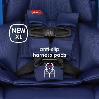 New XL anti-slip harness pads [Blue Sky]